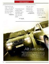 Allt i ett-bilar - Auto Motor & Sport