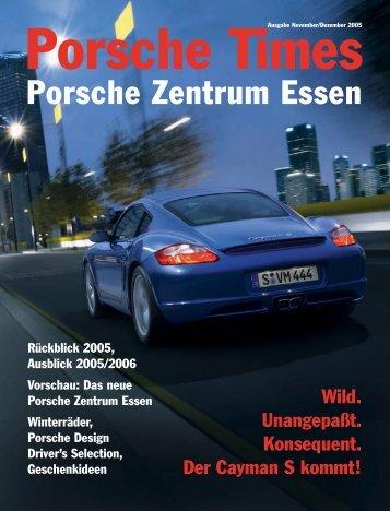 Ausgabe November/Dezember 2005 - Porsche Zentrum Essen