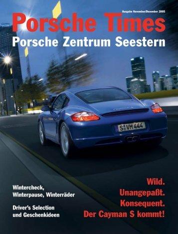 Ausgabe November/Dezember 2005 - Porsche