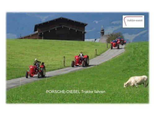 PORSCHE-DIESEL Traktor fahren - traktor-event