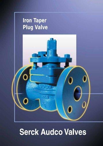 Serck Audco Iron Taper Plug Valve Brochure