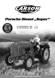 """Porsche Diesel """"Super"""" - Carson"""