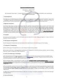 Allgemeine Geschäftsbedingungen >>lesen ( 203 kB) - Power Studio