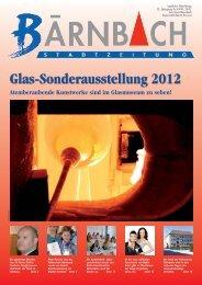 Glas-Sonderausstellung 2012 - Bärnbach