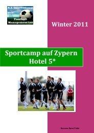 Sportcamp auf Zypern Hotel 5* - Sport-Fabi