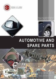 Automotive and Spare Parts - Republic of Turkey Ministry of Economy