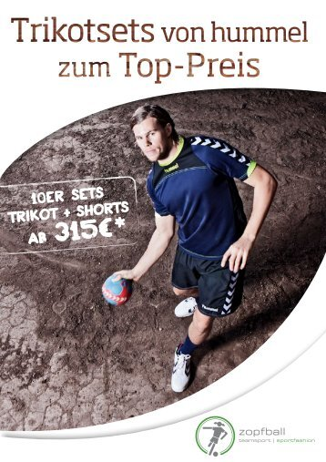 Download hummel Flyer Handball - zopfball