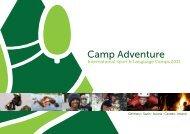 Page 1 Camp Adventure International Sport E1 Language Camps ...