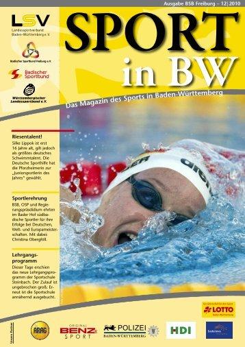 Weitere infos - Badischer Sportbund Freiburg e.V.