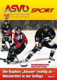 Anm.: Bereits in der der Dezemberausgabe 2009 - ASVÖ Burgenland