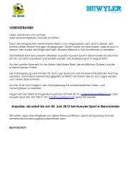 Aktion Vereinstrainer - SC Eich