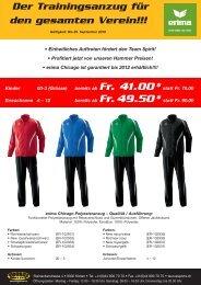 Der Trainingsanzug für den gesamten Verein!!! - TAURUS SPORTS ...