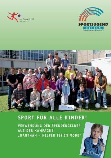 Sport für alle Kinder! - Sportjugend Hessen