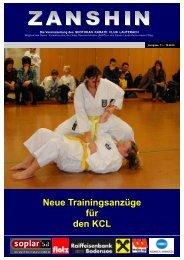 Neue Trainingsanzüge für den KCL - Shotokan Karate Club Lauterach