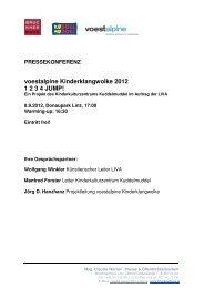 voestalpine Kinderklangwolke 2012 1 2 3 4 JUMP! - Brucknerhaus