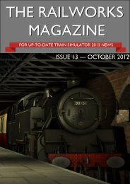 ISSUE 13 — OCTOBER 2012 - RailWorks Magazine