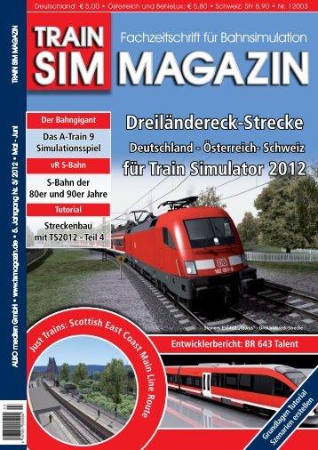 Dreiländereck-Strecke - Train Sim Magazin