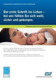 Der erste Schritt ins Leben - Kantonsspital Winterthur