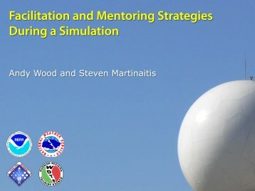 Facilitation and mentoring strategies during a simulation - Warning ...