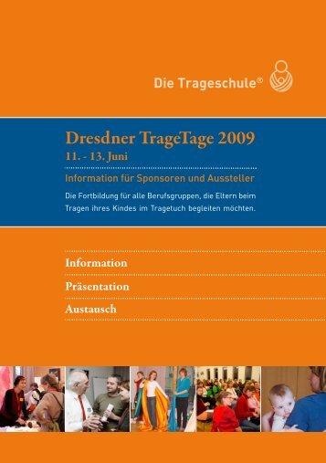 Dresdner TrageTage 2009 - Die Trageschule
