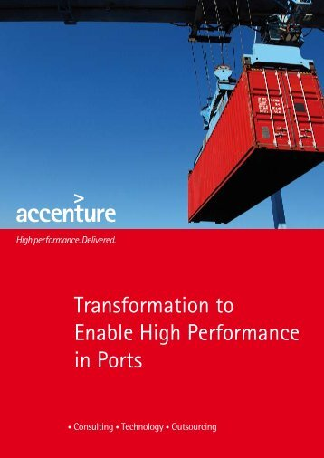 Transformation to Enable High Performance in Ports