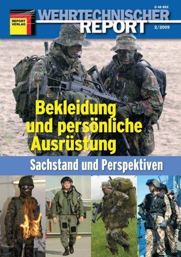Wehrtechnischer Report 0902 1 - BLÜCHER SYSTEMS GmbH
