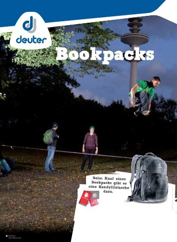 Bookpacks - Lederwaren Liedtke