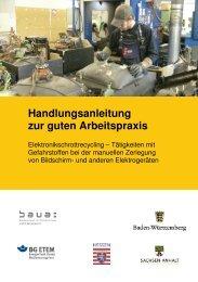 Handlungsanleitung zur guten Arbeitspraxis - Bundesanstalt für ...