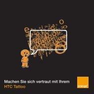 Machen Sie sich vertraut mit Ihrem HTC Tattoo