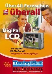 Der tragbare LCD-Monitor mit integriertem DVB-T ... - Thiecom