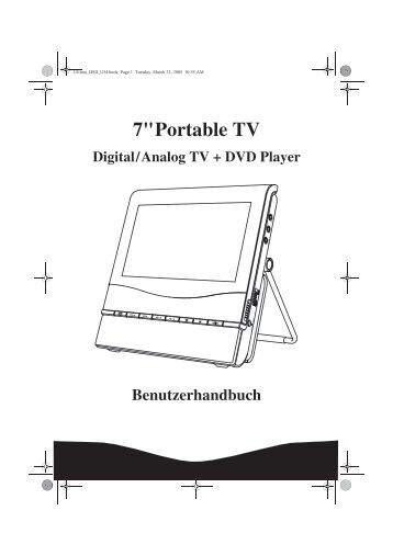 DVD PROSCAN DVD 0399 TELE