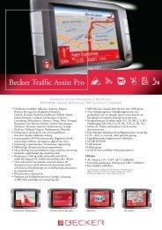 Becker Traffic Assist Pro