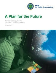 Controller Workforce Plan 2010-2019 - FAA