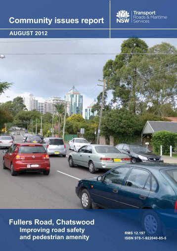 Fullers Road - Community issues report - RTA - NSW Government