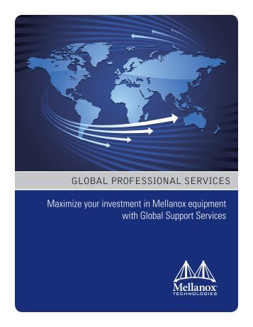 GLOBAL PROFESSIONAL SERVICES Maximize your ... - Mellanox