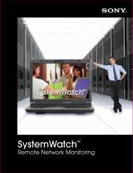 SystemWatch - Sony