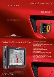 Becker Traffic Assist Pro Z 250
