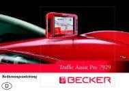Bedienungsanleitung - mobilenavigation.mybecker.com - Harman ...