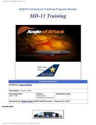 Sky Simulations McDonnell Douglas MD-11 / MD-10 - Avsim