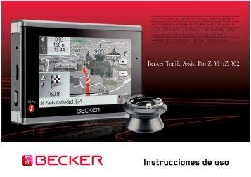 Instrucciones de uso - mobilenavigation.mybecker.com - Harman ...