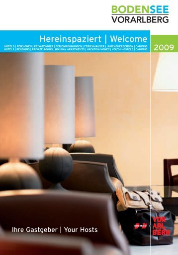 Hereinspaziert | Welcome
