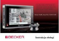 Instrukcja obsługi - mobilenavigation.mybecker.com - Harman ...