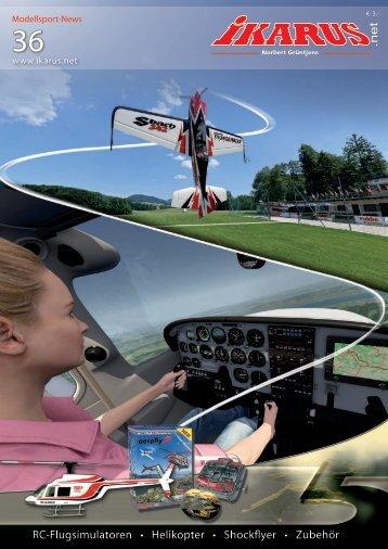 Fliegen - Trainieren - Spaß haben - Ikarus