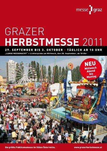 GRAZER HERBSTMESSE 2011 - Grazer HERBSTMESSE 2012