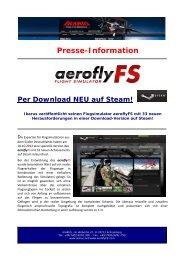 Der aeroflyFS auf Steam - Deutschlands größter Modellbau-Club
