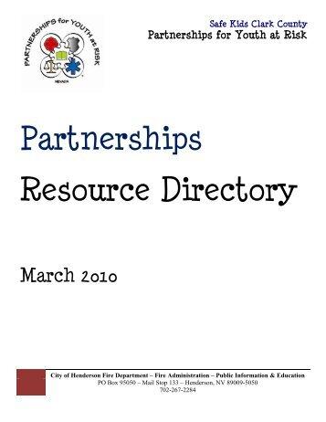 Partnerships Resource Directory - City of Las Vegas