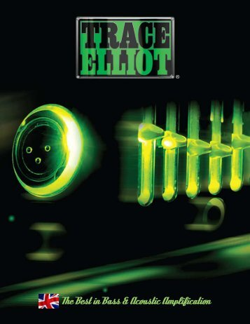 product catalog - Trace Elliot