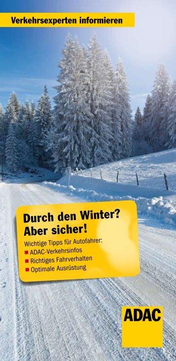 Sicher durch den Winter PDF, 801 KB - Adac