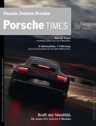 Köstliche Geschichte... - Porsche Zentrum Hamburg