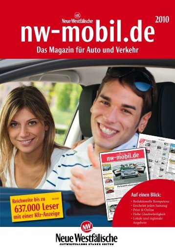 637.000 Leser - Neue Westfälische Verlag